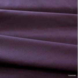 Фин вълнен плат цвят патладжан