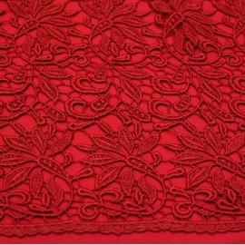 Дантела брюкселска - червена