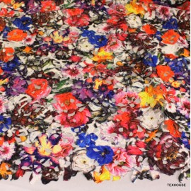 Дантела Dolce&Gabbana цветна